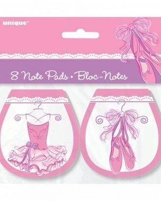 Anteckningsblock Ballerina - 8-pack