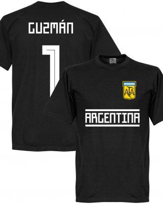 Argentina T-shirt Guzman 1 GK Team Svart XS