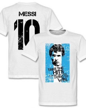 Argentina T-shirt Messi Flag S