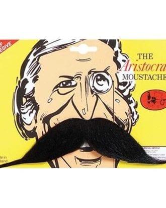 Aristokrat Mustasch - Svart