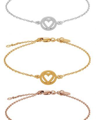 Armband Heartland - Nordahl Jewellery (Roséguld)