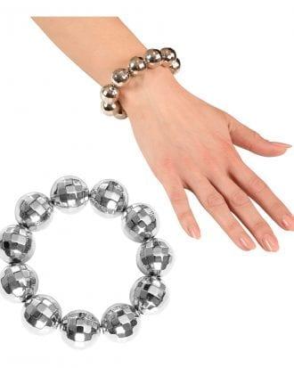 Armband med Discobollar