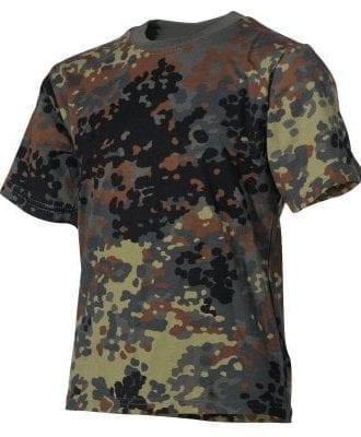 Army T-shirt Camo Barn (122/128