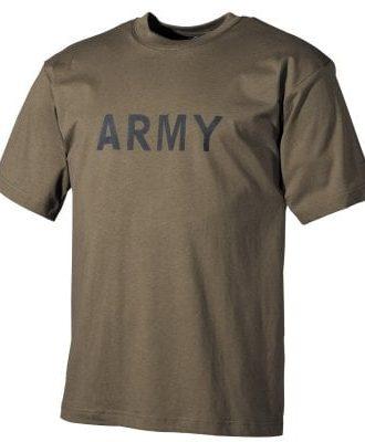 Army T-shirt Printed (S