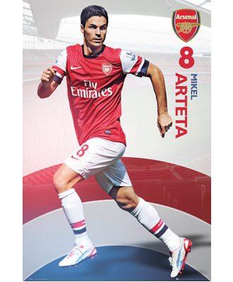 Arsenal Affisch Arteta 21