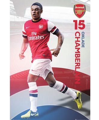 Arsenal Affisch Oxlade Chamberlain15