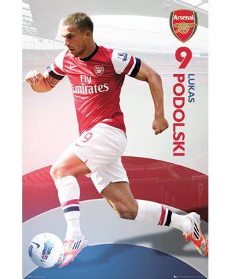 Arsenal Affisch Podolski 23