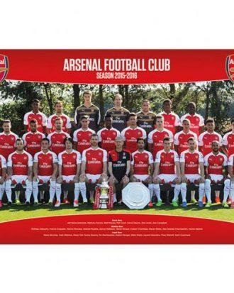 Arsenal Affisch Squad 17