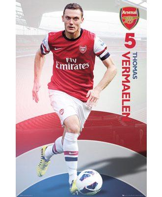 Arsenal Affisch Vermaelen 24