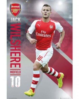 Arsenal Affisch Wilshere 108