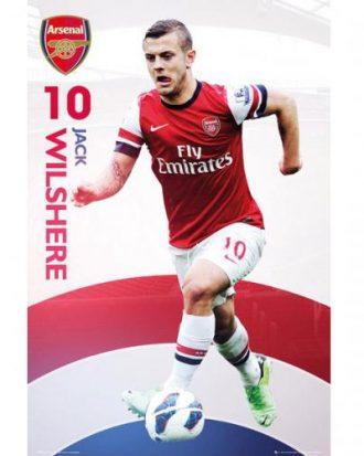 Arsenal Affisch Wilshere 37