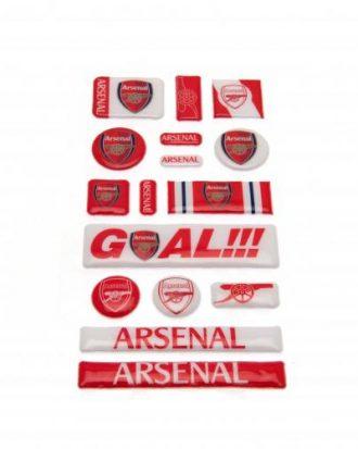 Arsenal Bubbelklistermärken