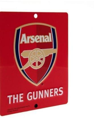 Arsenal Fönsterskylt SQ