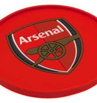Arsenal Glasunderlägg Silicon
