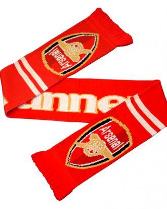 Arsenal Halsduk Fan Röd