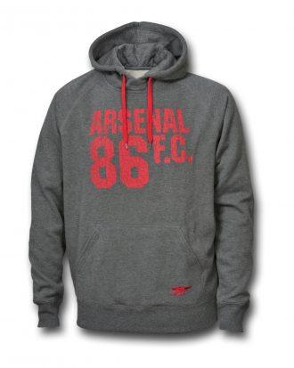 Arsenal Huvtröja 86 Grå L