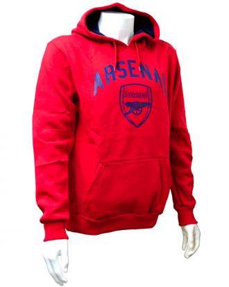 Arsenal Huvtröja Crest Röd S