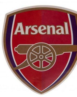 Arsenal Klistermärke Stort