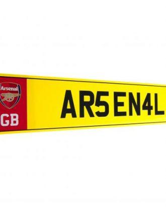 Arsenal nummerplåt