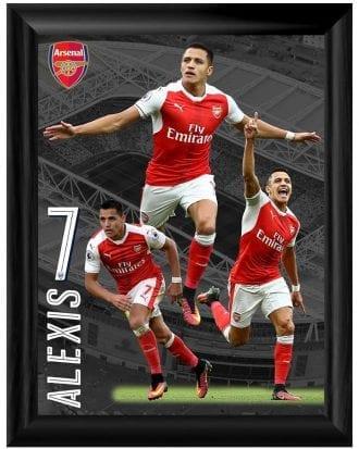 Arsenal Poster med Ram Sanchez