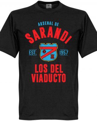 Arsenal Sarandi T-shirt Established Svart XS