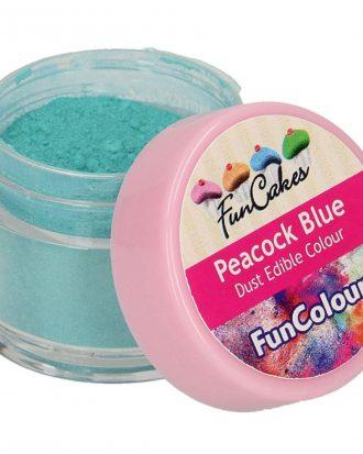 Ätbar Pulverfärg Peacock Blue