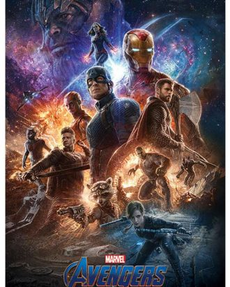 Avengers Endgame Poster From The Ashes