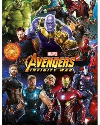 Avengers Infinity War Affisch 201
