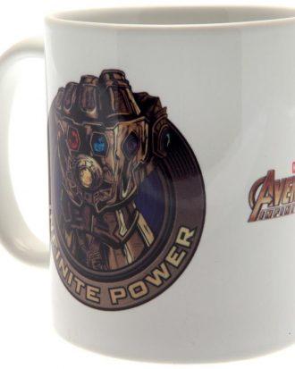 Avengers Infinity War Mugg Power