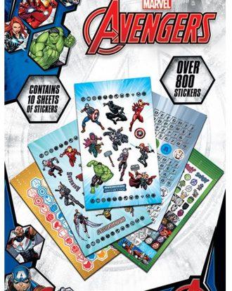 Avengers Klistermärken 800pc