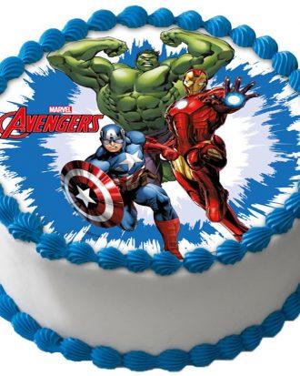 Avengers Tårtoblat A