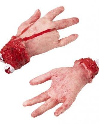 Avhuggen Hand med Blod Prop