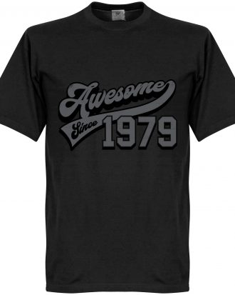 Awesome Since 1979 T T-shirt Culture Awesome Since 1979 Svart XS