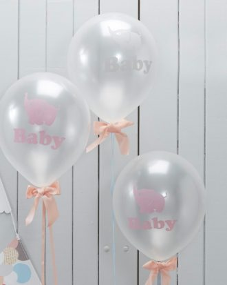 Babyshower Ballonger Little One - 10-pack