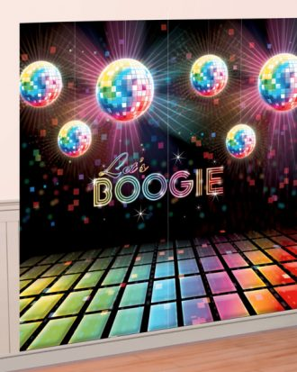 Backdrop Boogie Disco Fever