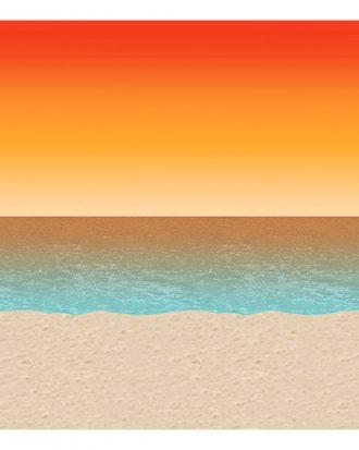 Backdrop Solnedgång Hav