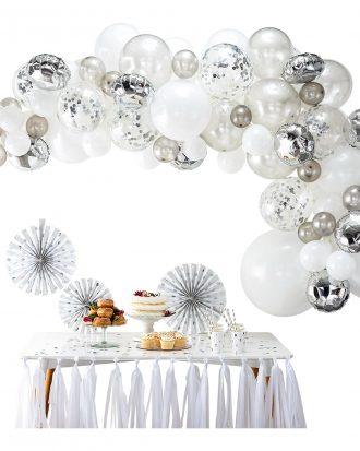 Ballongbåge Silver