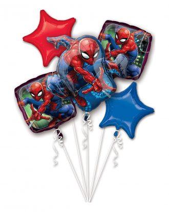 Ballongbukett Spider-Man