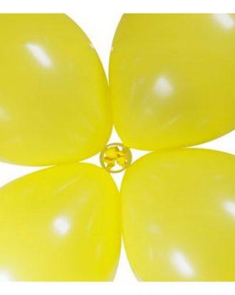 Ballongclips Transparent - 6-pack