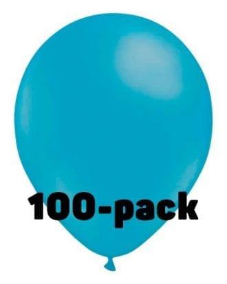 Ballonger Ljusblåa - 100-pack