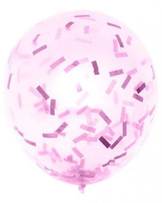 Ballongkonfetti Rosa - 100 gram