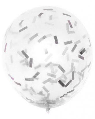 Ballongkonfetti Vit