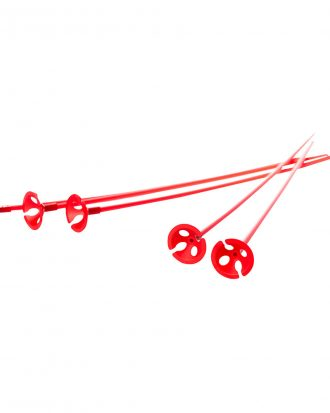 Ballongpinnar Röda - 100-pack