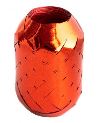 Ballongsnöre Metallic Rött - 20m * 7mm