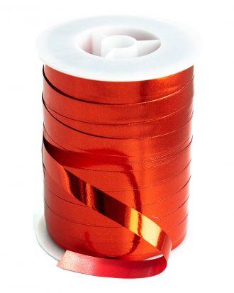 Ballongsnöre Metallic Rött - 250m * 10mm