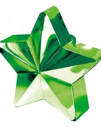 Ballongtyngd Stjärna Grön