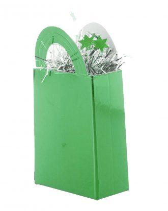 Ballongvikt Presentpåse Grön