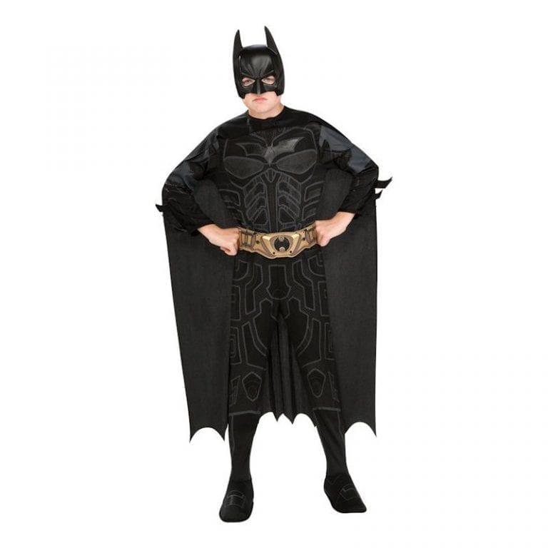 Batman Dark Knight Barn Maskeraddräkt - Large