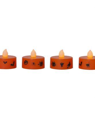 Batteridrivna Värmeljus Halloween LED - 4-pack