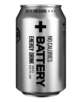 Battery Energy Drink No Calories - 24-pack (hel platta)